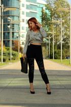 zaful blouse - zaful pants