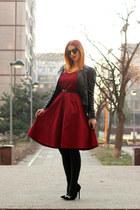 Rosegal dress - zaful sunglasses - AmiClubWear heels