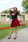 Shein-shirt-bata-heels