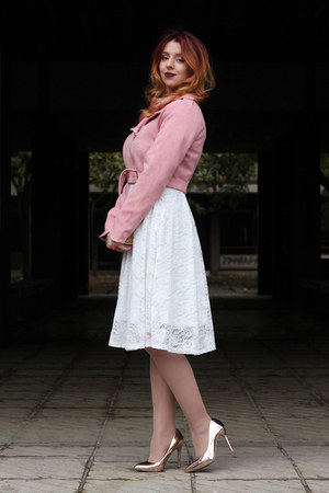 Rosegal dress - zaful jacket - AmiClubWear heels