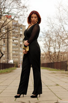 BangGood bag - Dropship clothes bodysuit - Bata heels - dresslily earrings