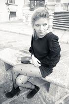 Self Made dress - girardi tights - Chanel accessories - Zara shoes
