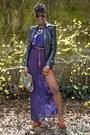 Burnt-orange-local-boutique-shoes-purple-local-boutique-dress
