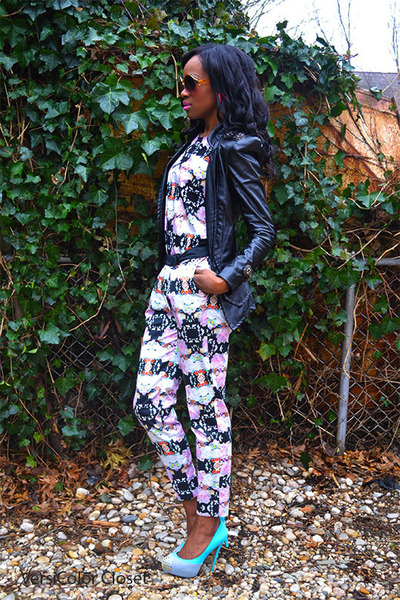 H&amp;M shirt - Shoedazzle shoes - Aldo sunglasses - H&amp;M pants