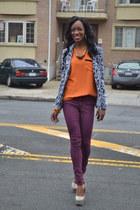 H&M blazer - H&M pants - Steve Madden pumps