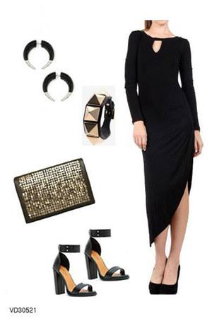 black cute dress very J dress