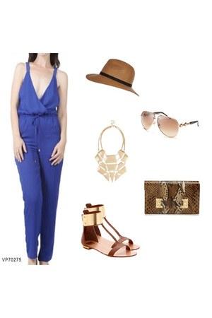 blue sexy blue vneck VeryJ jumper