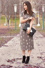 Black-via-ordinary-people-boots-heather-gray-cut-out-suka-clothing-dress