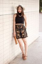 dark green high waisted mcq alexander mcqueen shorts