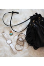 Off-white-forever-21-dress-black-h-m-bag-black-forever-21-vest