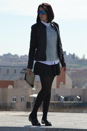 PERSUNMALL skirt - Zara shoes - PERSUNMALL sweater