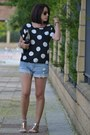 Oasap-shirt-h-m-shorts-zara-sandals