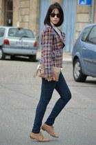 Front Row Shop jacket - suiteblanco shoes - Zara pants
