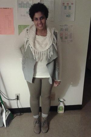Rachel Rachel sweater - Forever 21 boots - Charlotte Russe leggings