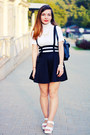 White-wholesale-sandals-black-new-dress-skirt