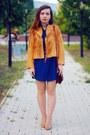 Blue-cndirect-dress-carrot-orange-suede-cndirect-jacket