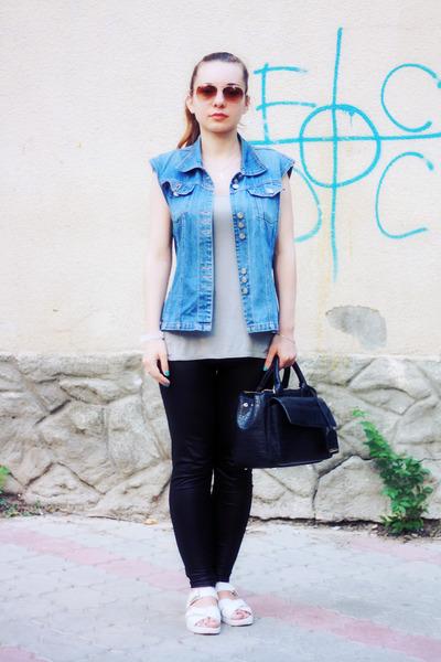 Black-oasap-leggings-black-zara-bag-light-brown-h-m-sunglasses