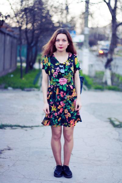 maroon Poppy Lux dress