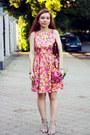 Yellow-cotton-poppy-lux-dress-crimson-leather-maxwell-scott-bag
