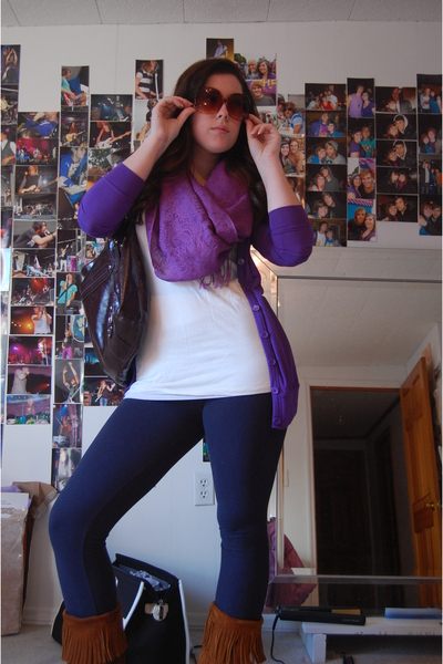 Purple Garage Sweaters Purple Scarves White Ts Shirts Blue Hollister Leggings | U0026quot;My Go To ...