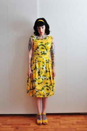 60s cotton vintage dress