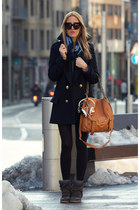 Zara coat - Oh my bag bag - Isabel Marant sneakers