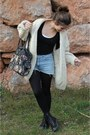 Black-coolway-boots-levis-jeans-black-calzedonia-tights