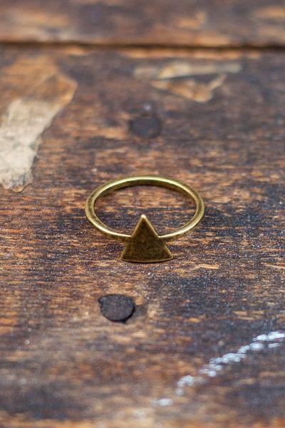 Love Nail Tree ring
