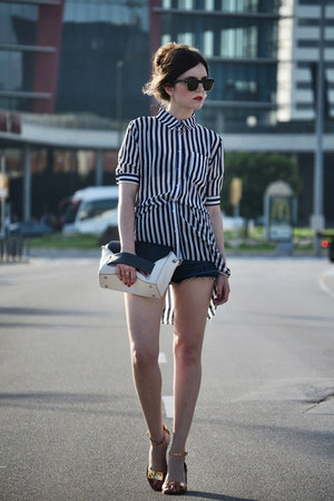 6ks shirt - Zara shoes - Aïta bag - Ray Ban sunglasses