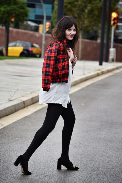 chicnova jacket - OASAP shirt - Zara heels