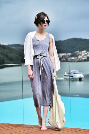 Mi&Co dress - Miu Miu sunglasses - Mi&Co cardigan