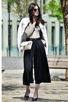 vintage shoes - Cowest jacket - Brussosa bag - Miu Miu sunglasses - Mango top