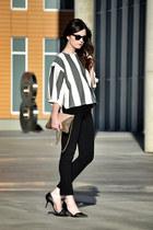 Mootta top - Zara heels