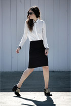 Zara shoes - Sugarlips Apparel shirt - Zara skirt