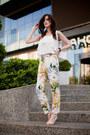 White-new-look-bag-white-sheinside-top-white-sheinside-pants