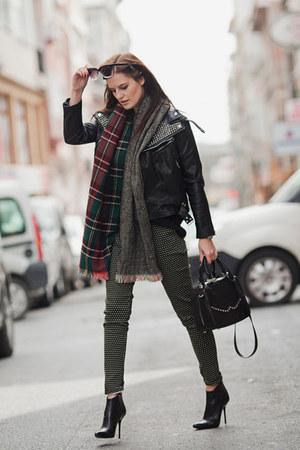 black Sheinside jacket - dark gray Sheinside pants
