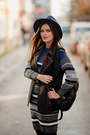 Heather-gray-romwe-dress-black-les-eclaires-jacket