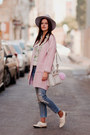 White-rebecca-minkoff-bag-white-romwe-blouse-light-pink-sheinside-cardigan