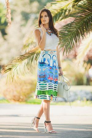white Rebecca Minkoff bag