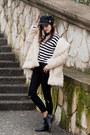 Ivory-stylemoi-coat-black-stylemoi-hat