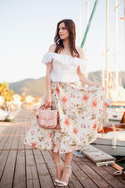 ivory LC Waikiki top - white Mianora skirt