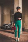 Zara-shoes-h-m-sweater-coffer-red-mango-bag-asos-pants