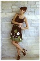Michael Kors shoes - Halston Heritage bag - talbots belt -  skirt