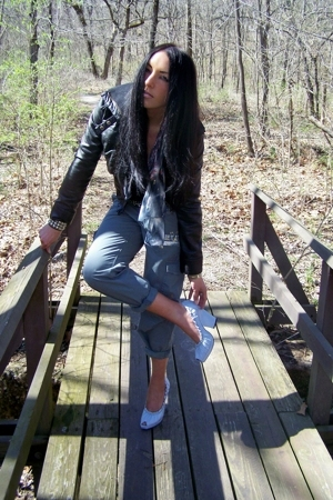 forever 21 jacket - H&M - Victorias Secret pants - Zinc - Hot Topic
