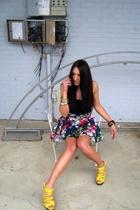 urban original shoes - Go International skirt - Gap jacket - vintage - Juicy Cou