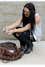 Brown-urban-outfitters-accessories-black-target-jeans-black-jessica-simpson-