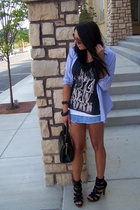 Ralph Lauren shirt - tank Converse shirt - vintage bag