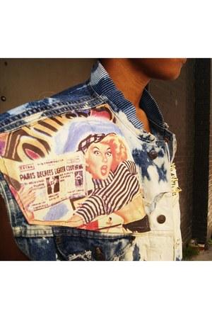 paris news VintageCopyCat jacket