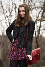 Black-dsw-boots-pink-modcloth-dress-black-modcloth-jacket