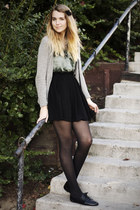 silver urban outfiters cardigan - teal Urban Outfitters shirt